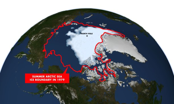 artic ice loss